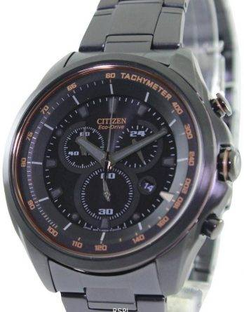 Citizen WDR Eco-Drive Chronograph Tachymeter AT2187-51E Mens Watch
