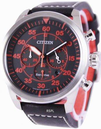Citizen Eco-Drive Aviator Chronograph CA4210-08E Mens Watch