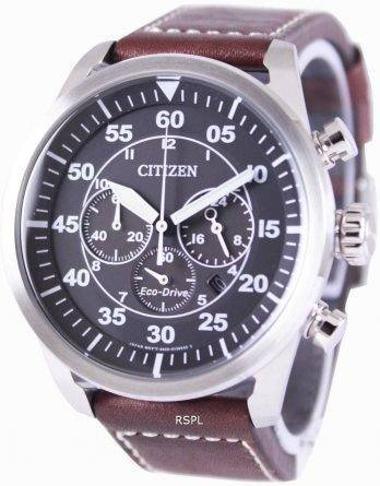 Citizen Eco-Drive Aviator Chronograph CA4210-16E Mens Watch