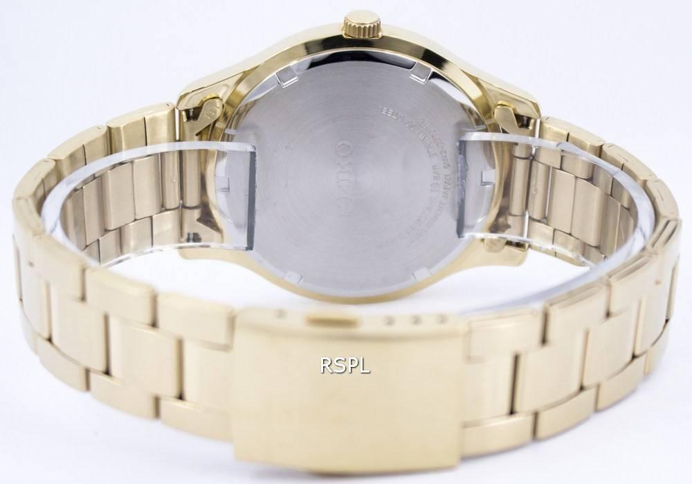 8a92e49458c Seiko Quartz Gold Tone 100M SUR054 SUR054P1 SUR054P Men's Watch