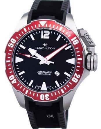 Hamilton Khaki Navy Frogman automatiske H77805335 Herreur