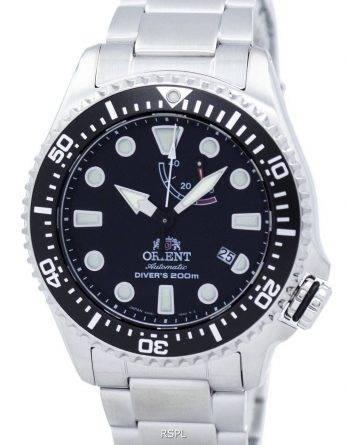 Orientere Sports automatisk dykkerens 200M magt Reserve RA-EL0001B00B Herreur