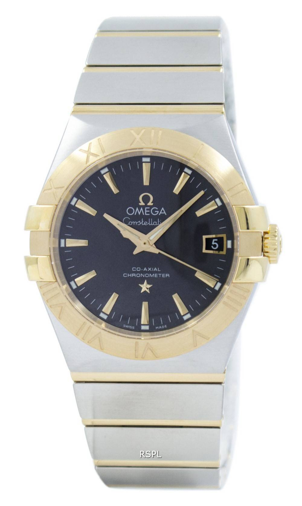 22e14bec1ef Omega Constellation Co-Axial kronometer 123.20.35.20.06.001 Herreur ...