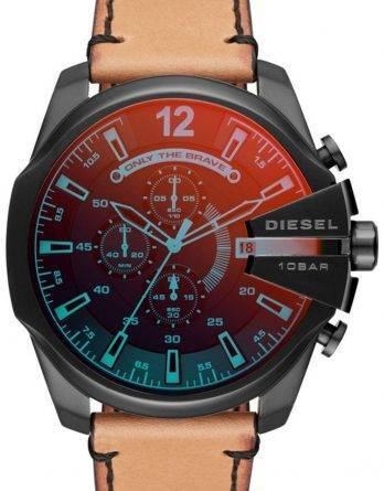 Diesel tidsrammer Mega Chief Chronograph Quartz DZ4476 Herreur