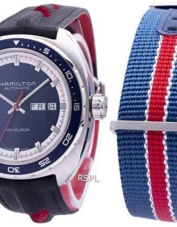 Hamilton amerikanske klassiske Pan Europ automatisk H35405741 Herreur