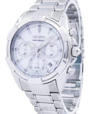 Seiko Chronograph Quartz SRW807 SRW807P1 SRW807P kvinders Watch