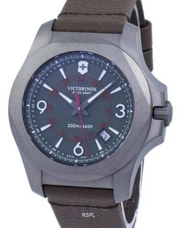 Victorinox I.N.O.X. Titanium schweiziske hær kvarts 200M 241779 Herreur