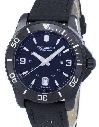 Victorinox Maverick store Black Edition schweiziske hær kvarts 241787 Herreur