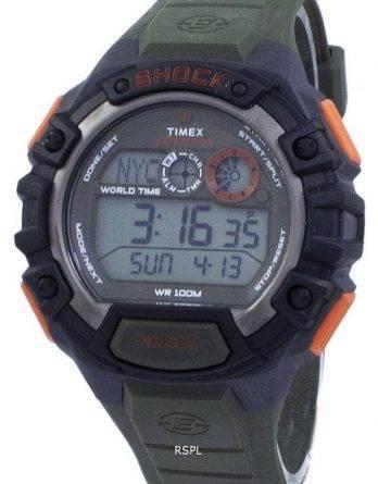 Timex Expedition chok verden tid Indiglo Digital T49972 Herreur