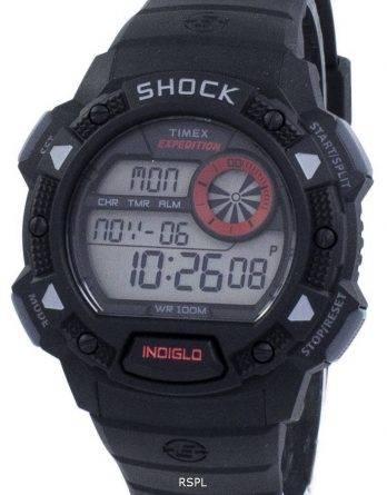 Timex Expedition Antichoc De Base chok Indiglo Digital T49977 Herreur