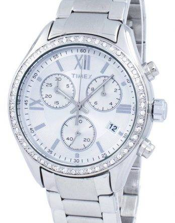 Timex Miami Chronograph Quartz Diamond Accent TW2P66800 kvinders Watch