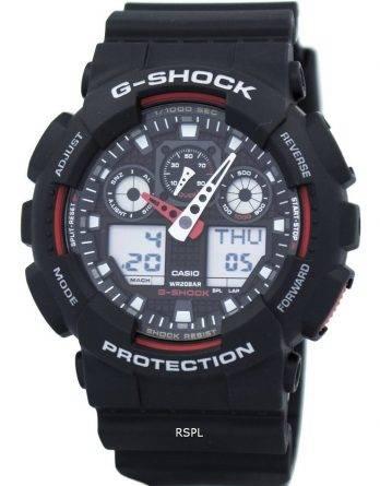 Casio G-Shock hastighed indikator Alarm GA-100-1A4 GA-100 ur