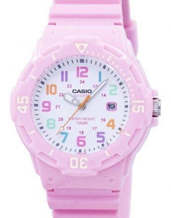 Casio Pink harpiks rem LRW-200H-4B2VDF LRW-200H-4B2V kvinders ur