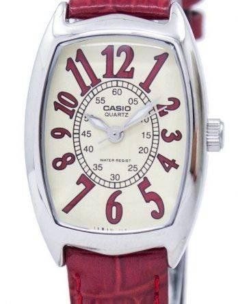 Casio kvarts Analog LTP-1208E-9B2DF LTP-1208E-9B2 kvinders ur