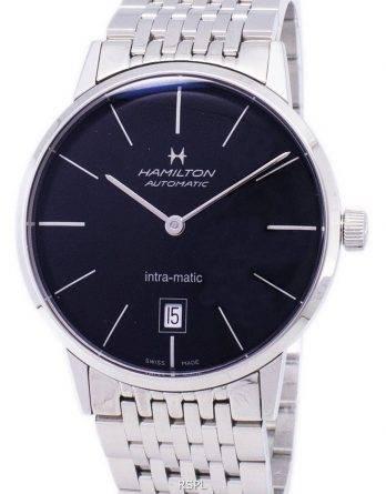 Hamilton automatisk sorte skive H38455131
