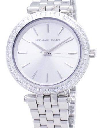 Michael Kors Petite Jesper sølv Dial rustfrit stål MK3364 kvinders ur