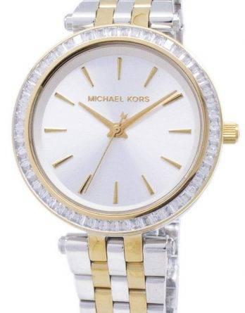 Michael Kors Mini Jesper to Tone krystaller MK3405 kvinders ur