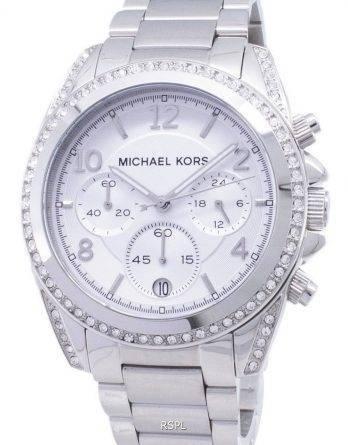 Michael Kors Chronograph Crystal MK5165 kvinders ur