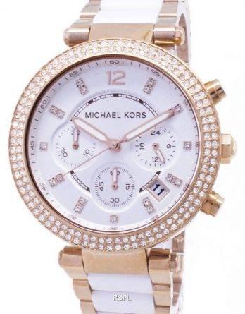 Michael Kors Parker Chronograph krystaller MK5774 kvinders ur