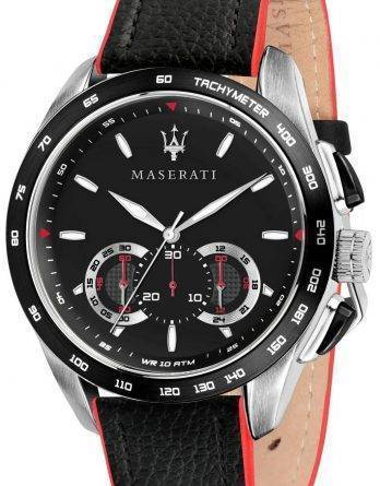 Maserati Traguardo R8871612028 Chronograph Tachymeter Herreur
