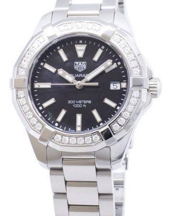 Tag Heuer Aquaracer WAY131P. BA0748 Diamond accenter Quartz 300M dame ur