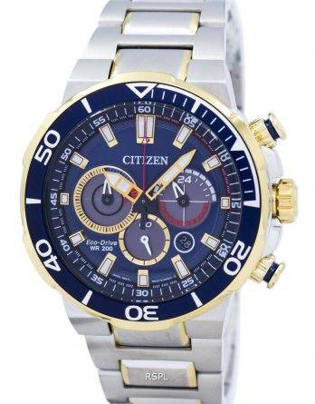 Citizen Eco-Drive Chronograph Analog 200M CA4254 - 53L Herreur