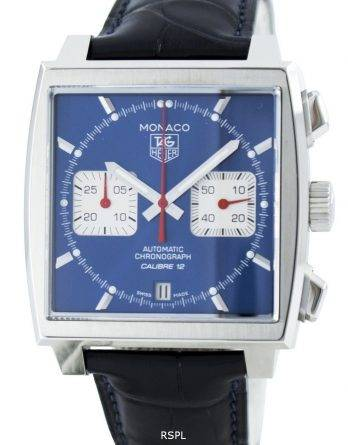 Tag Heuer Monaco automatisk Chrongraph kaliber 12 Swiss Made CAW2111. FC6183 Herreur
