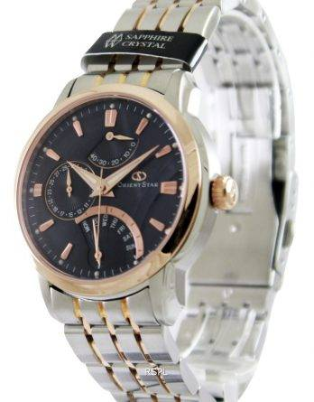 Orient Star retrograd Power Reserve DE00004D Herreur