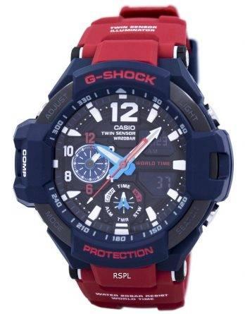Casio G-Shock GRAVITYMASTER chok resistent verden tid GA-1100-2A Herreur