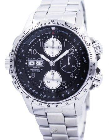 Hamilton Khaki X-vind automatiske Chronograph H77616133 Herre ur
