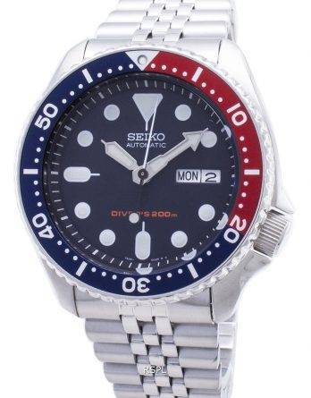 Seiko automatiske dykkerens 200m Jubilee armbånd SKX009K2 SKX009
