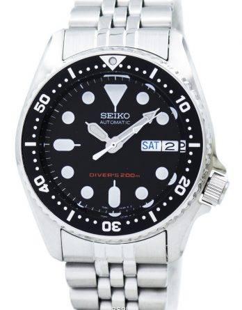 Seiko dykkere automatisk 200m 21 juveler lille størrelse SKX013K2 SKX013