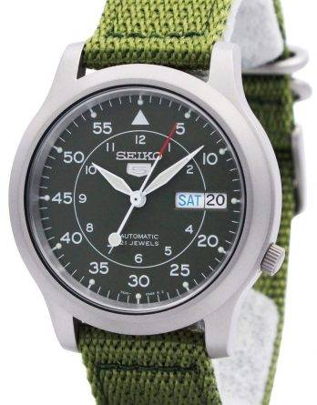 Seiko 5 militær automatisk Nylon Herre ur SNK805K2 SNK805
