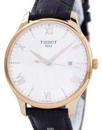 Tissot T-klassiske Tradition Quartz T063.610.36.038.00 T0636103603800 Herreur