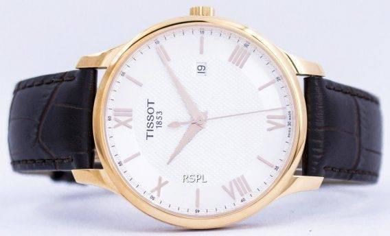 Tissot T-klassiske Tradition Quartz T063.610.36.038.00 T0636103603800 Herreur