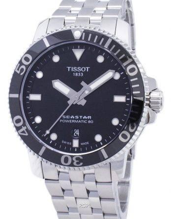 Tissot T-sport Seastar T 120.407.11.051.00 T1204071105100 Powermatic 80 300M Herre-ur