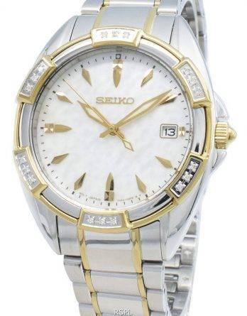 Seiko Classic SKK880P SKK880P1 SKK880 Diamond Accents Quartz Womens Watch